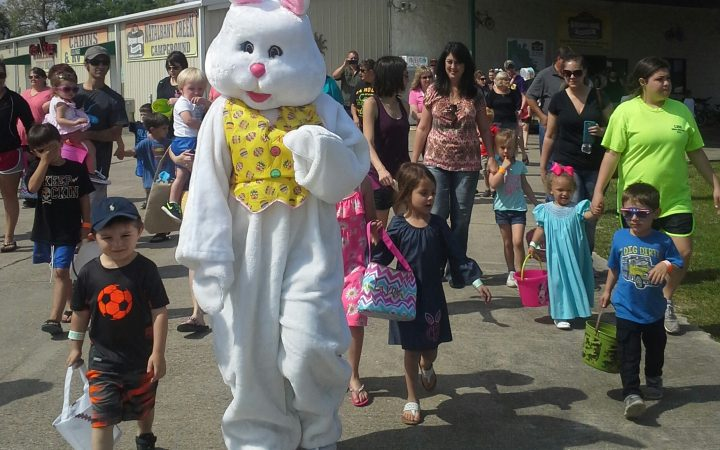 Natalbany Creek RV Park & Campground - Easter Bunny parade event