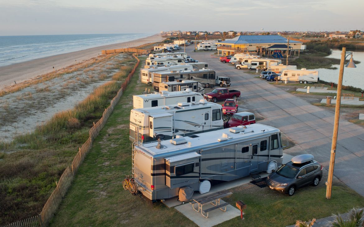 Dellanera Rv Park In Galveston Tx Is Open For Business