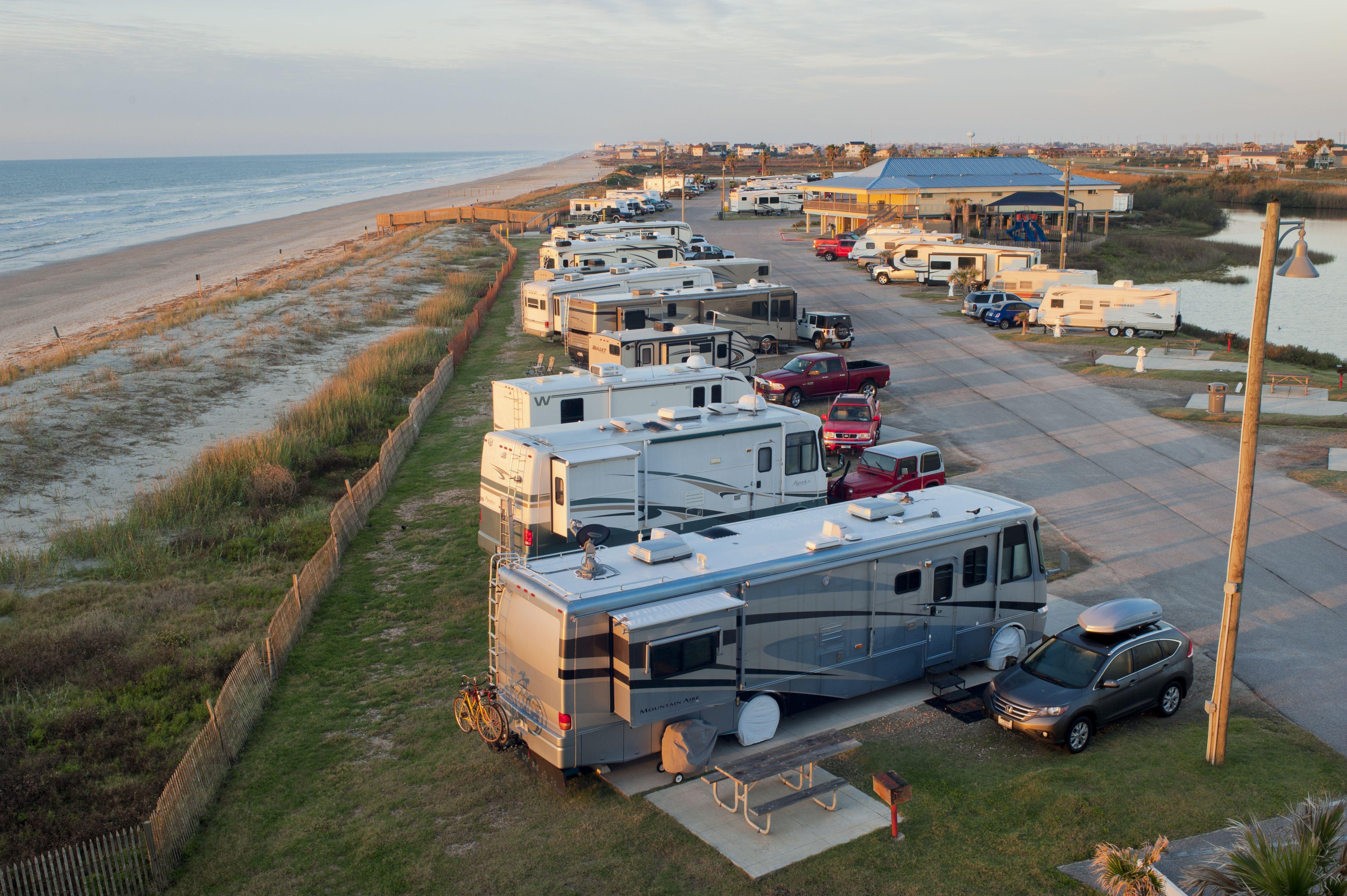 Dellanera RV Park in Galveston, TX Is Open for Business