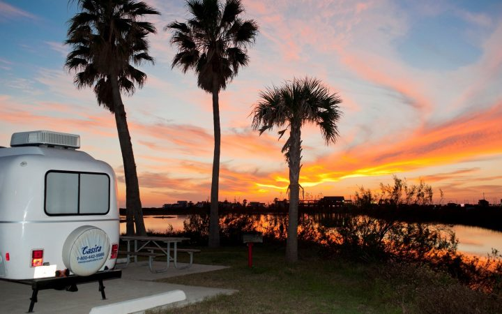 Dellanera RV Park at Sunset