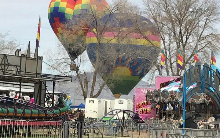 Pahrump balloon Festival - carnival