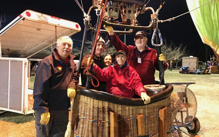 Pahrump Balloon Festival -balloon crew