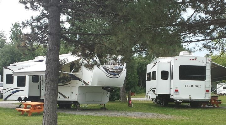 Camp Hither Hills - RV sites among trees