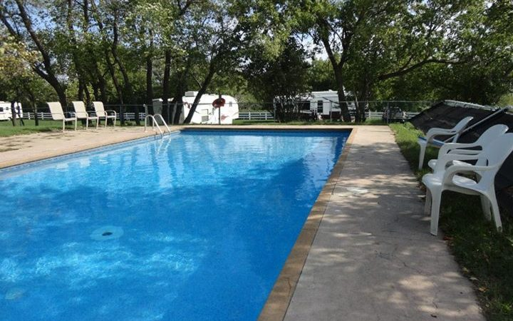 Camp Hither Hills - outdoor pool