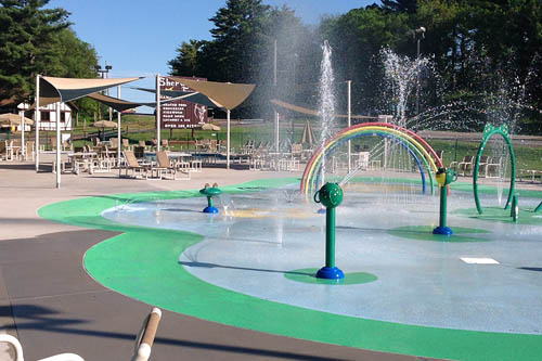 Sherwood Forest Camping & RV Park - splash pad