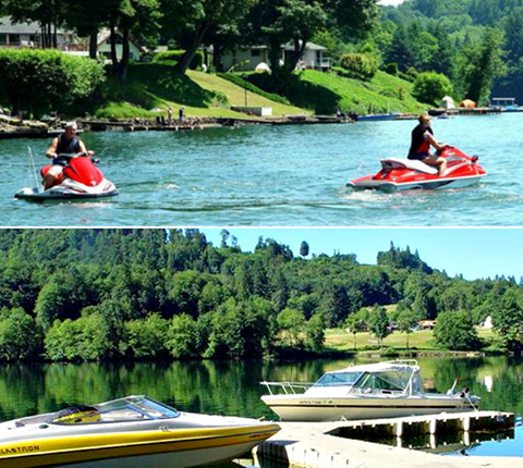 Harmony Lakeside RV Park & Cabins - lake activities