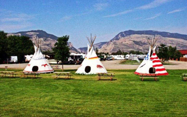 Ponderosa Campground - teepees