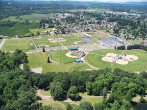 Midway RV Park - aerial view