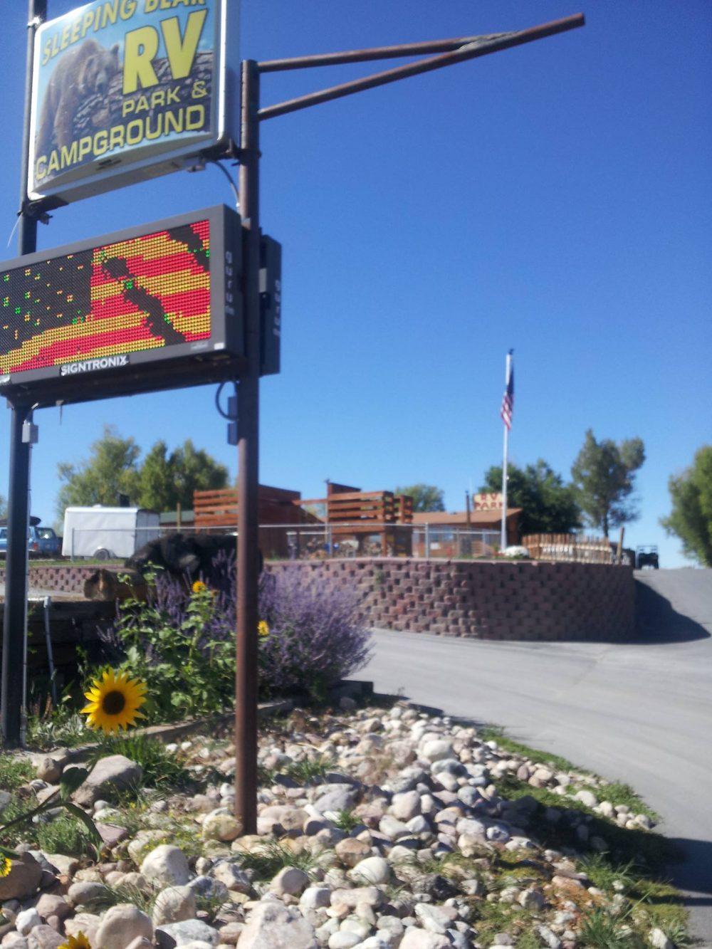Sleeping Bear RV Park & Campground - park Sign