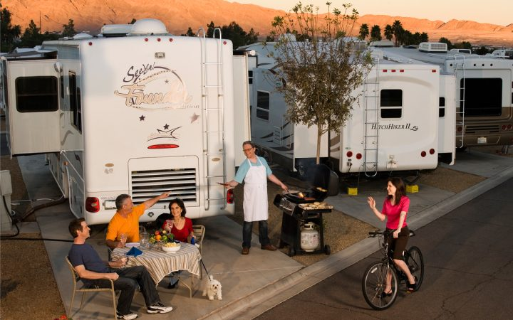 Arizona Charlie's Boulder RV Park - RV sites