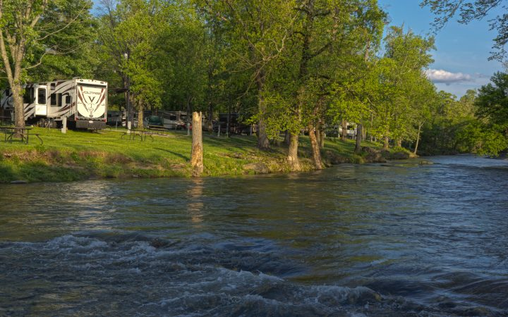 Camp RiversLanding - river and rv