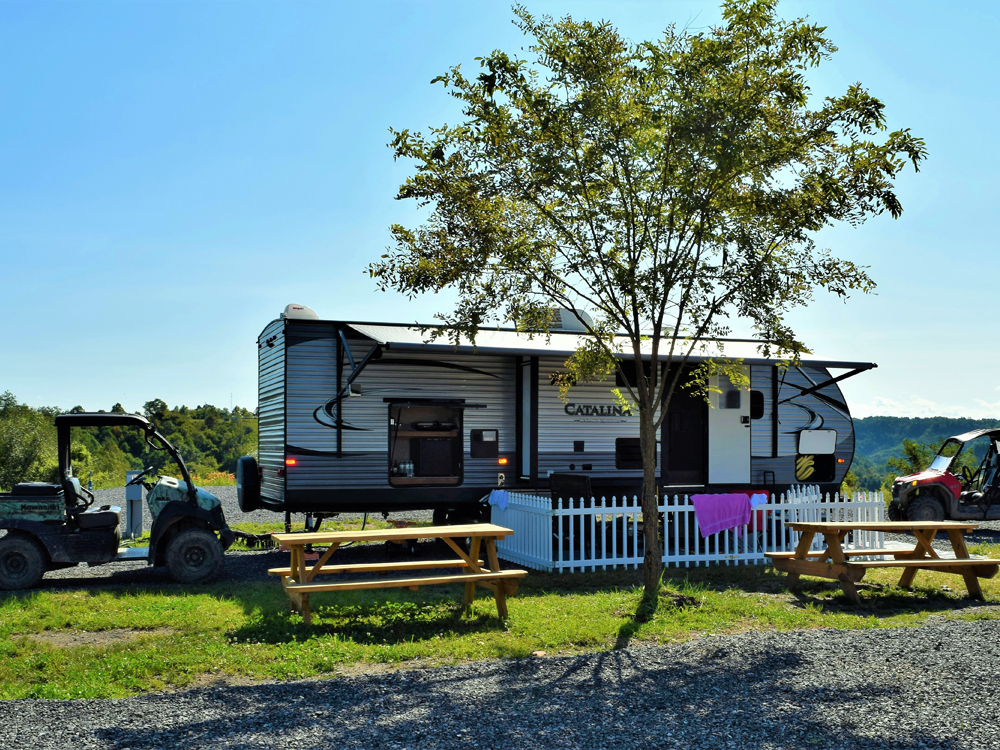 Southern Gap Outdoor Adventure RV Park - Full hook-up pull-through RV sites provide your home away from home!