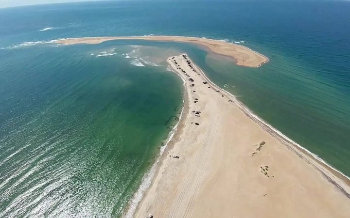 The Outer Banks - sand bank