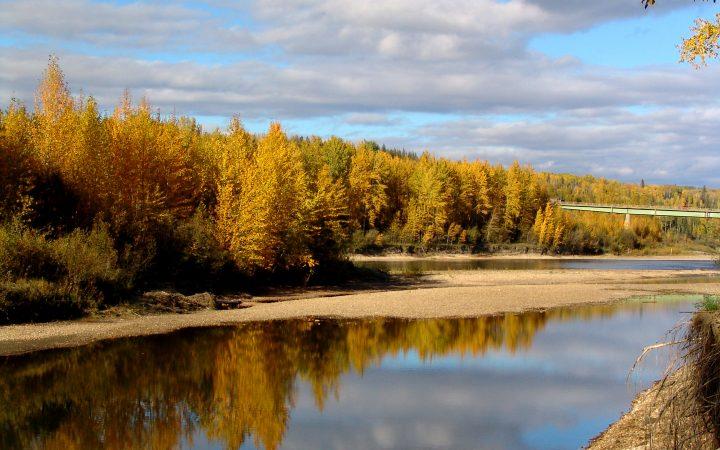 Grande Prairie - river banks
