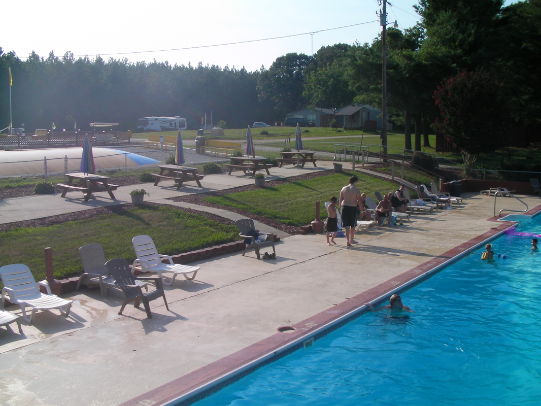 Midway Campground & RV Resort in Statesville, NC - outdoor pool