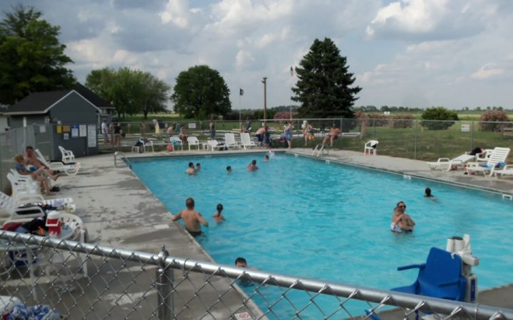 Double J Campground - outdoor pool