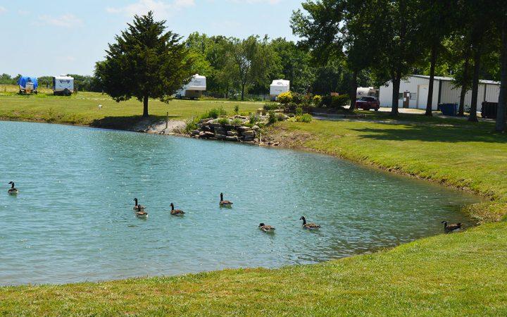 Rutlader Outpost - Louisburg Middle Creek Lake