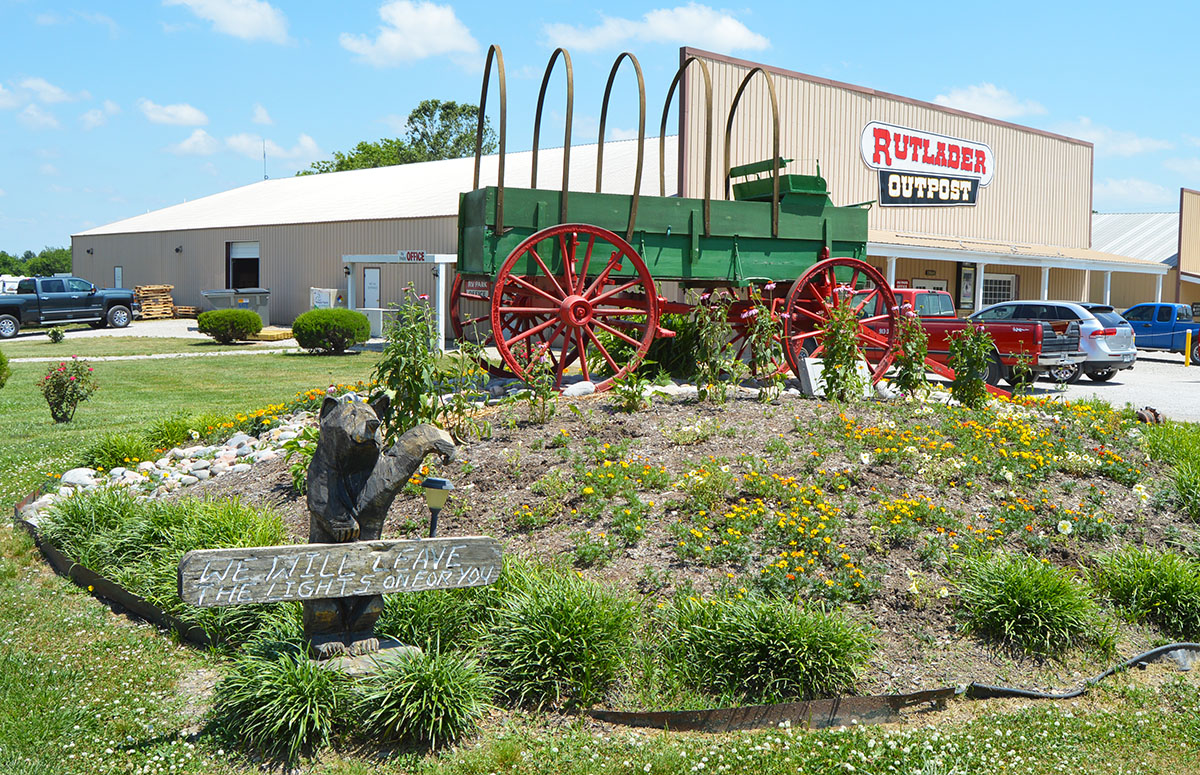 Rutlader Outpost Rv Park On The Border Of Missouri And Kansas
