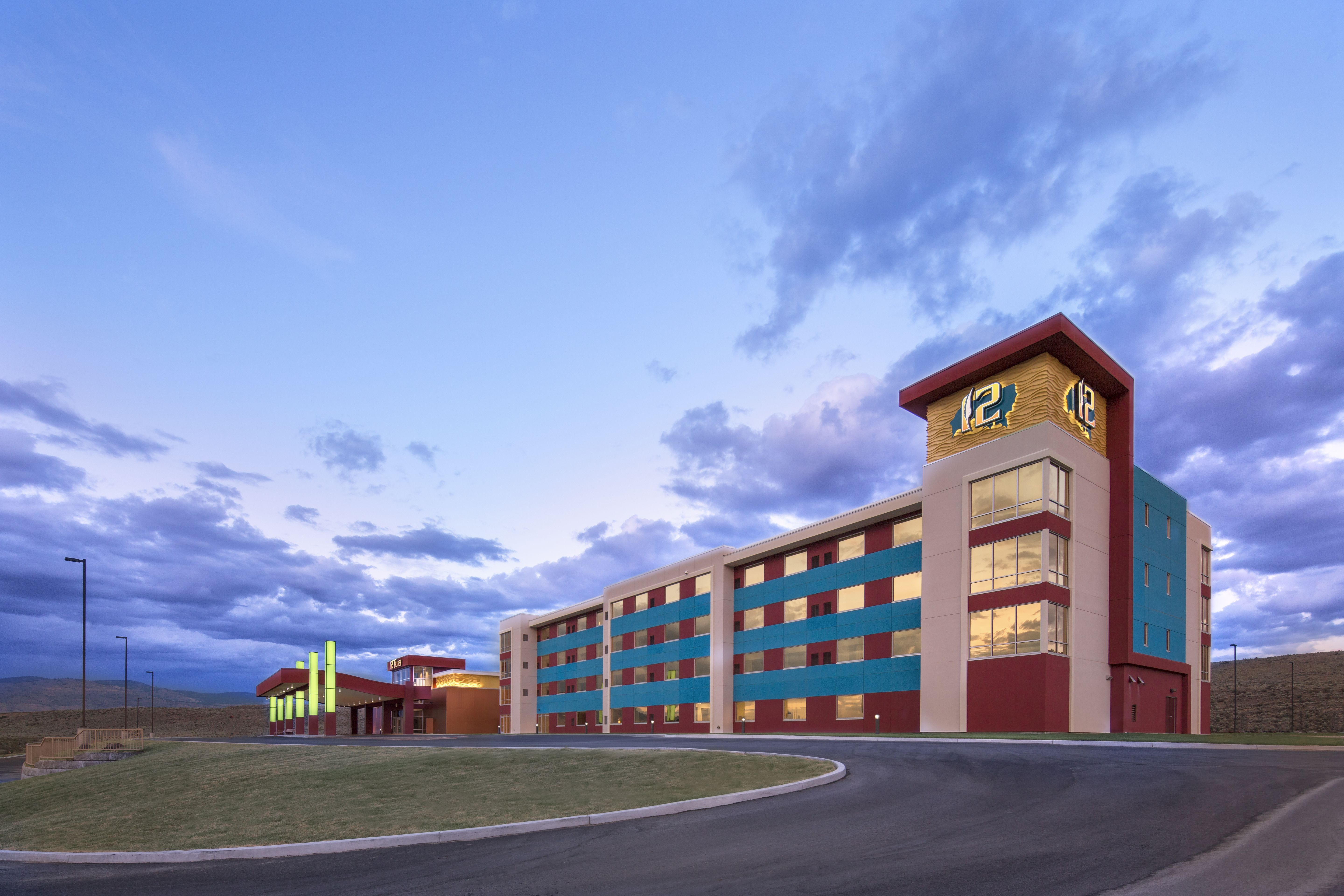 Relax At The 12 Tribes Resort Casino Amp Rv Park In
