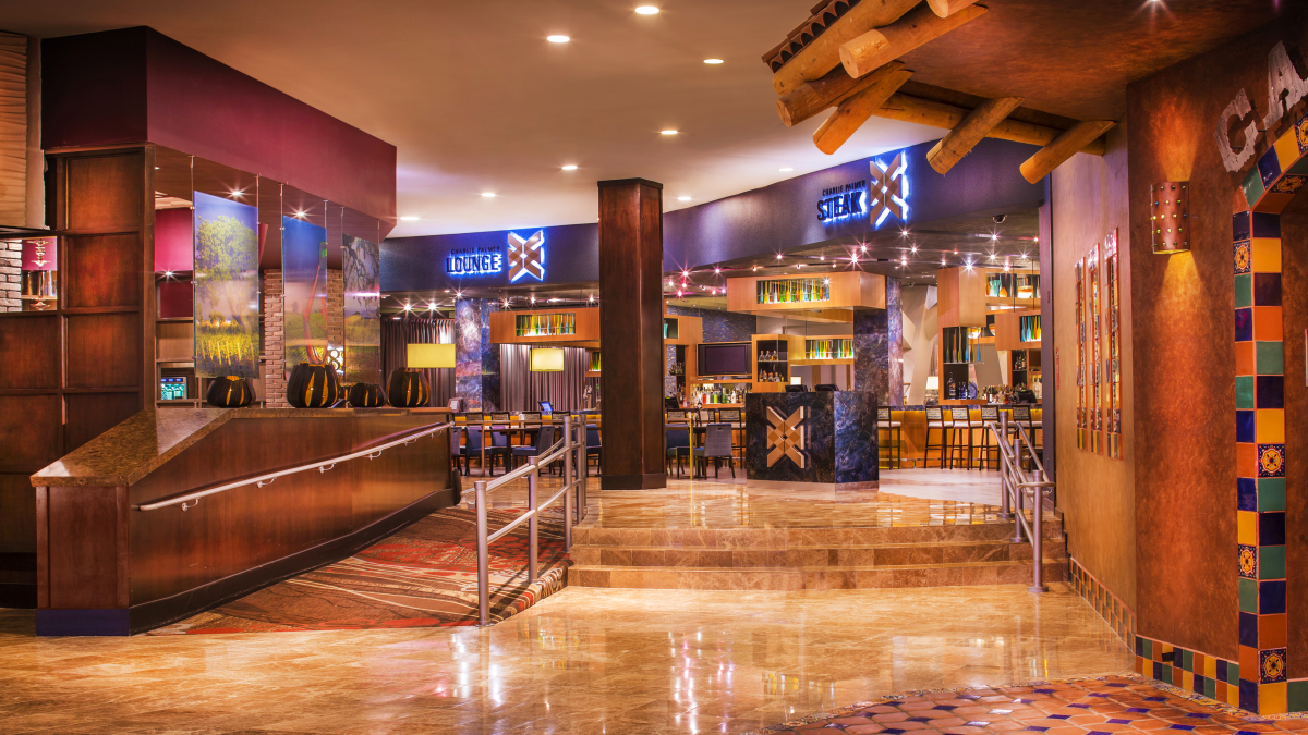 Entrance to Restaurant Row at Grand Sierra Resort_