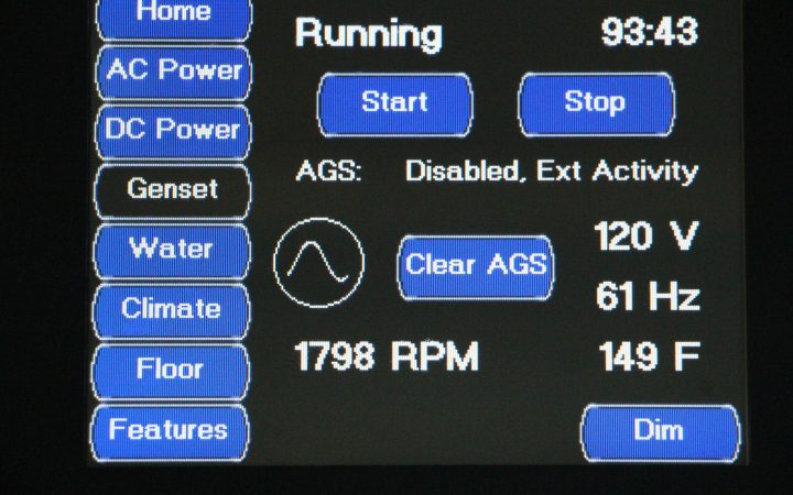 RV generator care