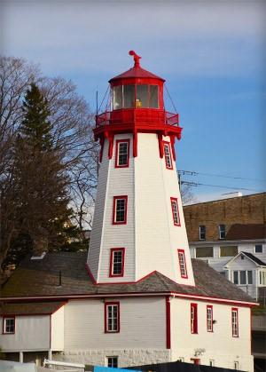 Point Clark Lighthouse, Lake Huron