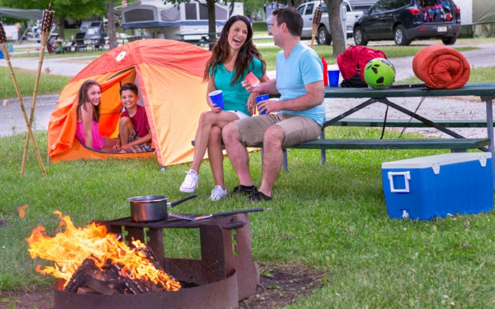 Indiana Beach Board Resort - family camping