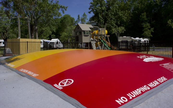 Camp Riverslanding - bounce pad