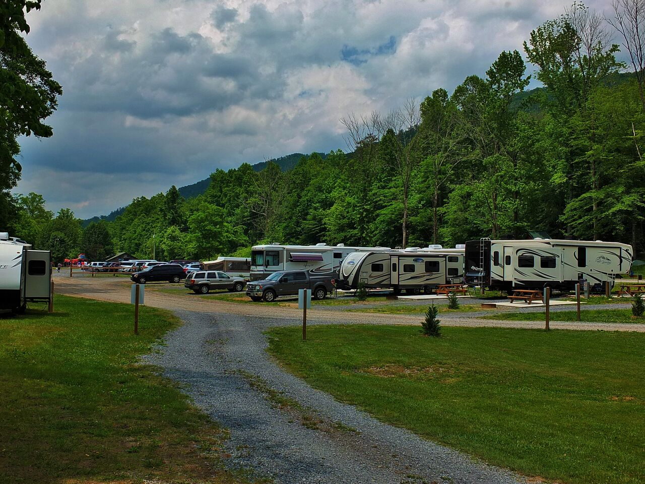 Pigeon River Campground - RV sites