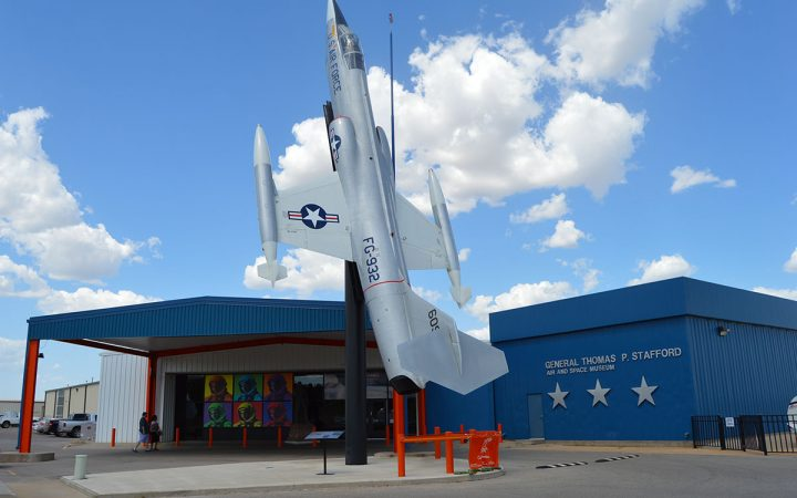 Stafford Air & Space Museum - starfighter