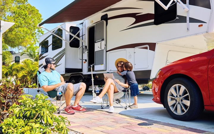 Northern Quest RV Resort - family with RV