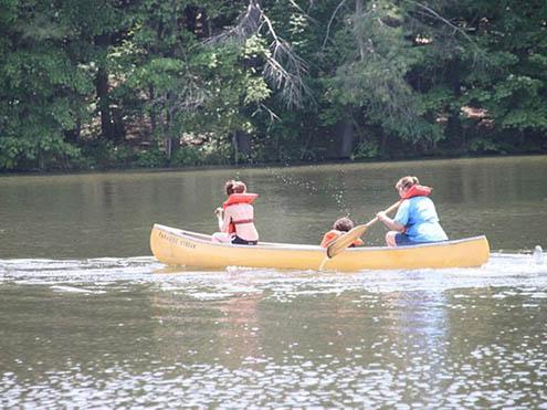Paradise Stream Family Campground - kayaking