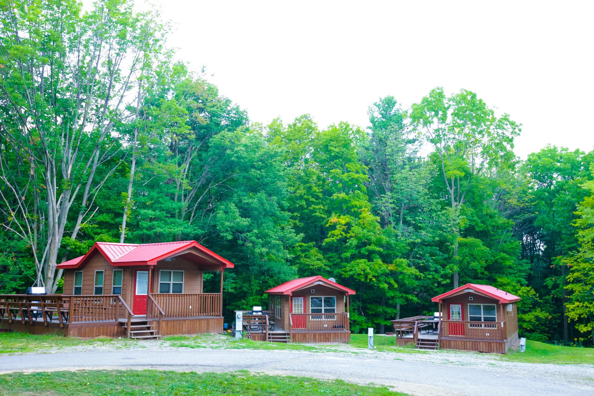 Bissell's Hideaway Resort - cabins