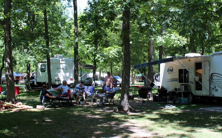 Campers Cove, RV sites