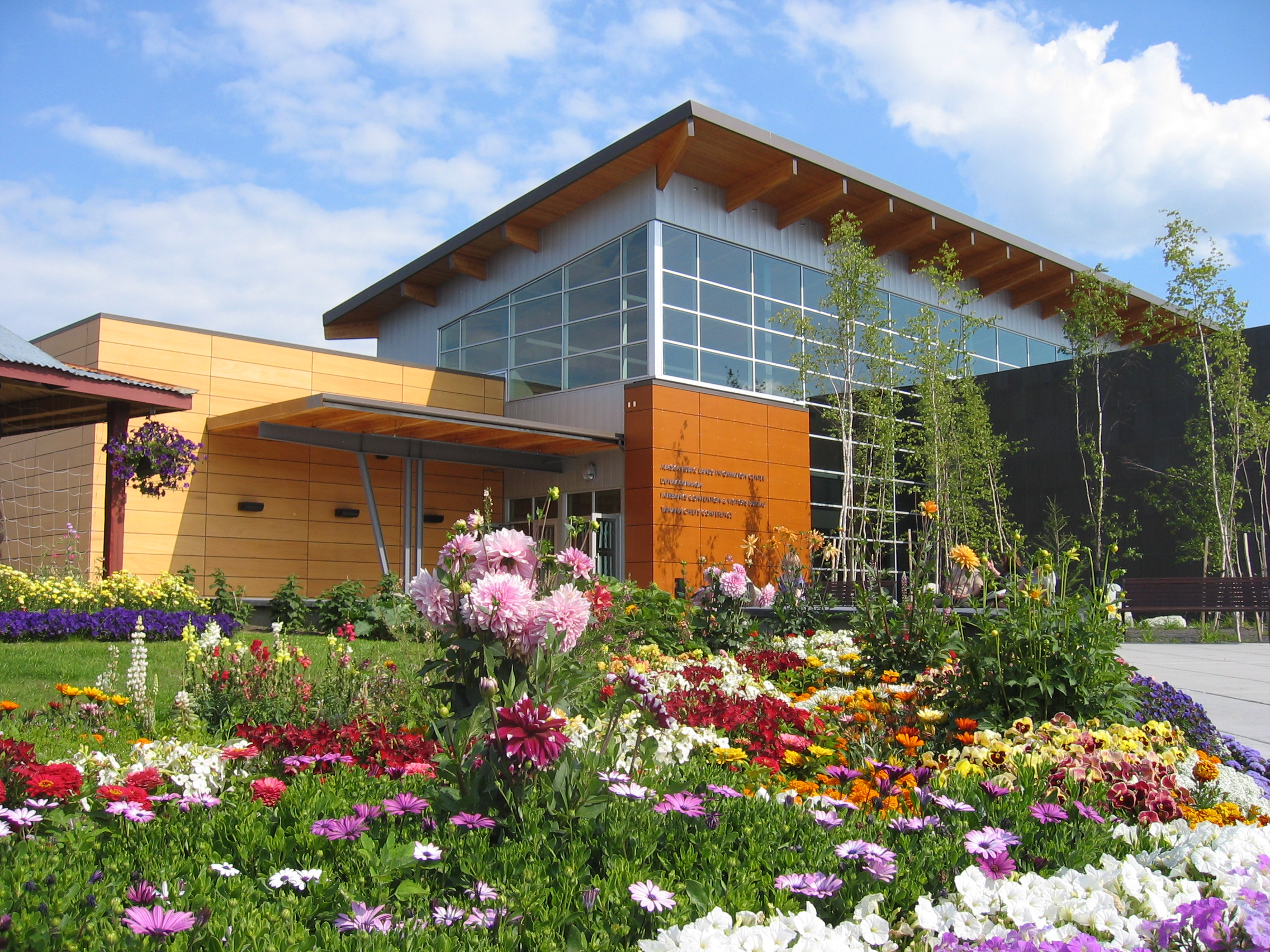 Fairbanks, Alaska - Morris Thompson Cultural and Visitors Center