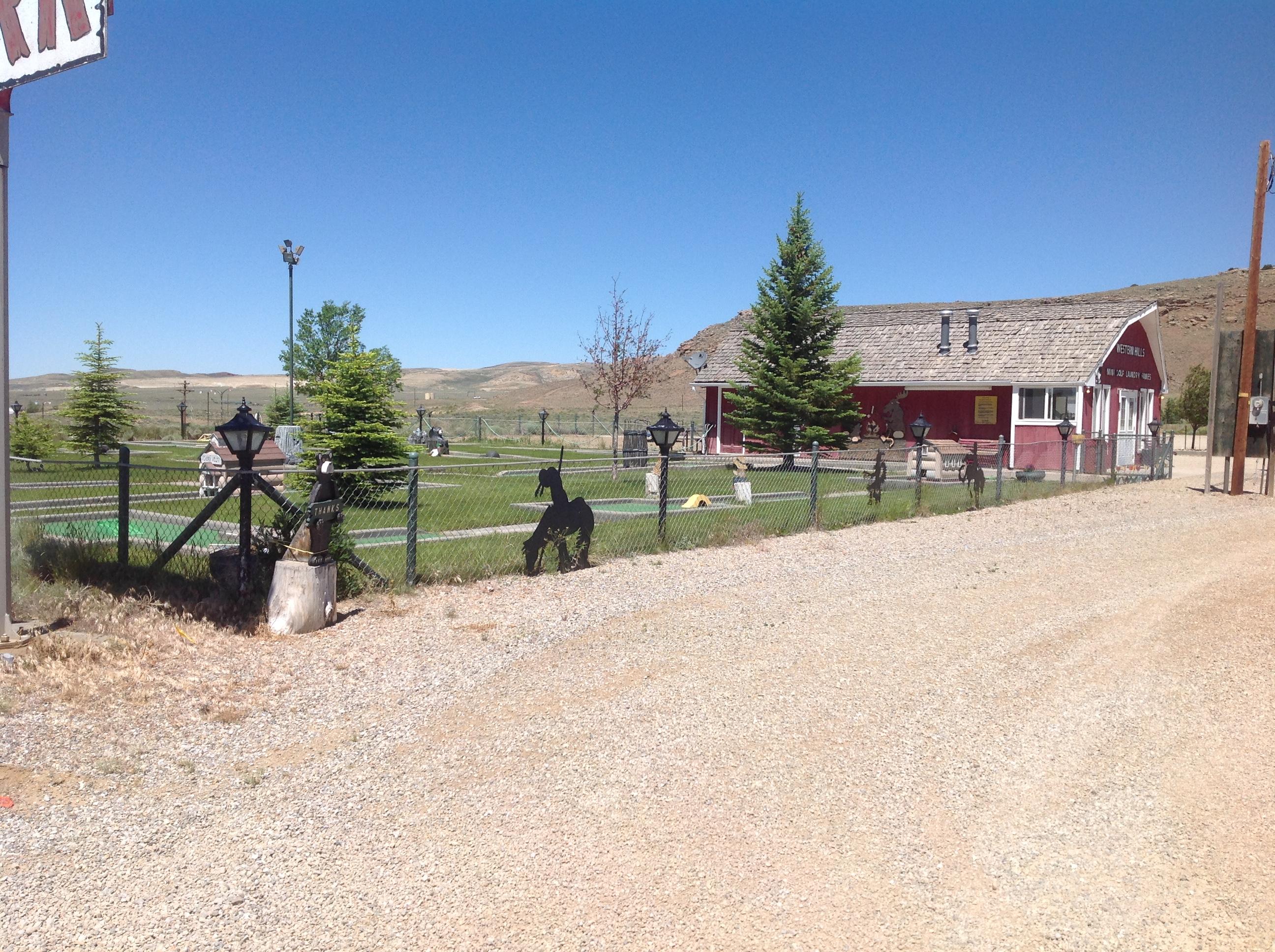 Western Hills Campground,. Rawlins