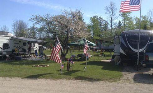 Fish Creek Campground - RV sites