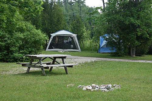 Fish Creek Campground - tent sites