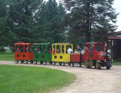 Stoney Creek RV Resort - kiddies train