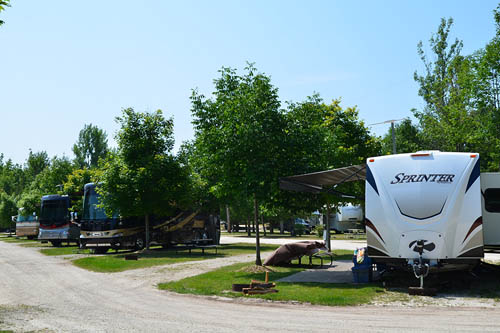 Baileys Grove Campground - RV sites