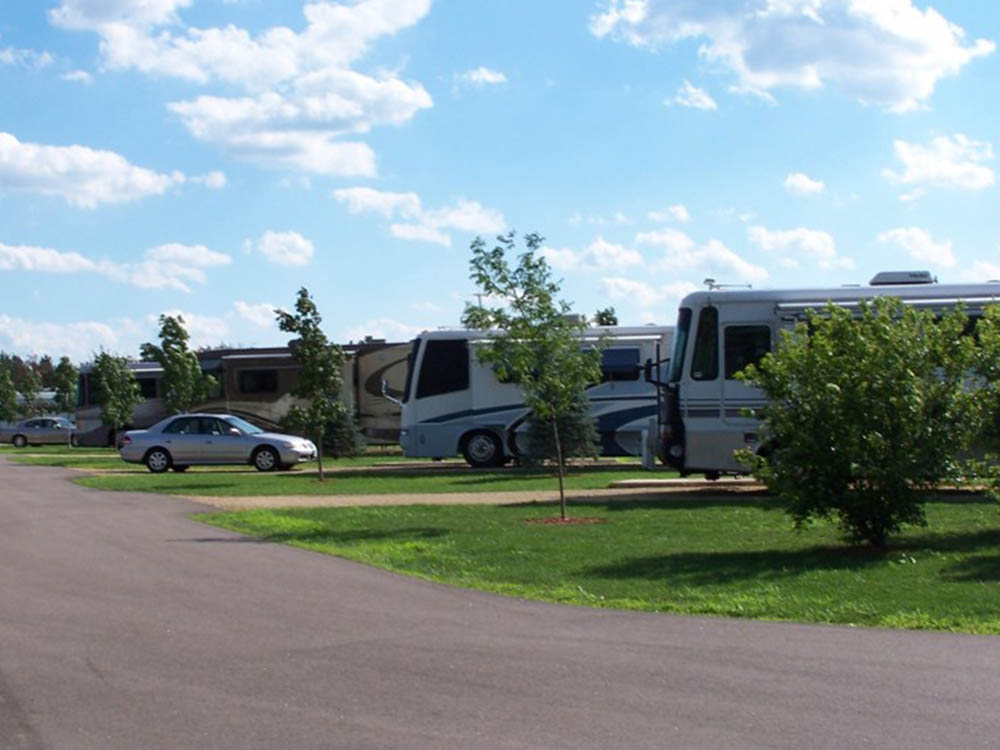 RV sites at Stoney Creek RV Resort