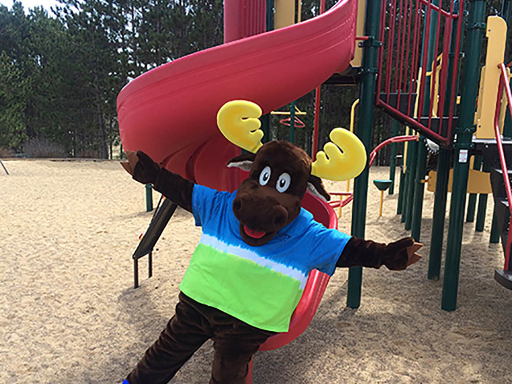 Morey the Moose at Sotney Creek RV Resort