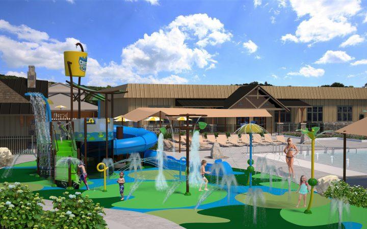 Lake George RV Park - splash pad