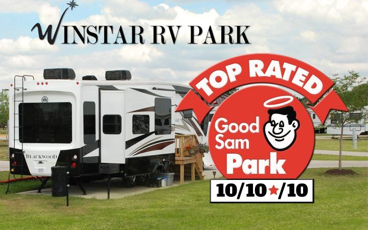 Winstar RV Park - top rated Good Sam Park