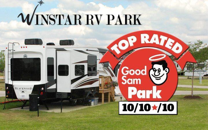 Winstar RV Park - top rated Good Sam Park
