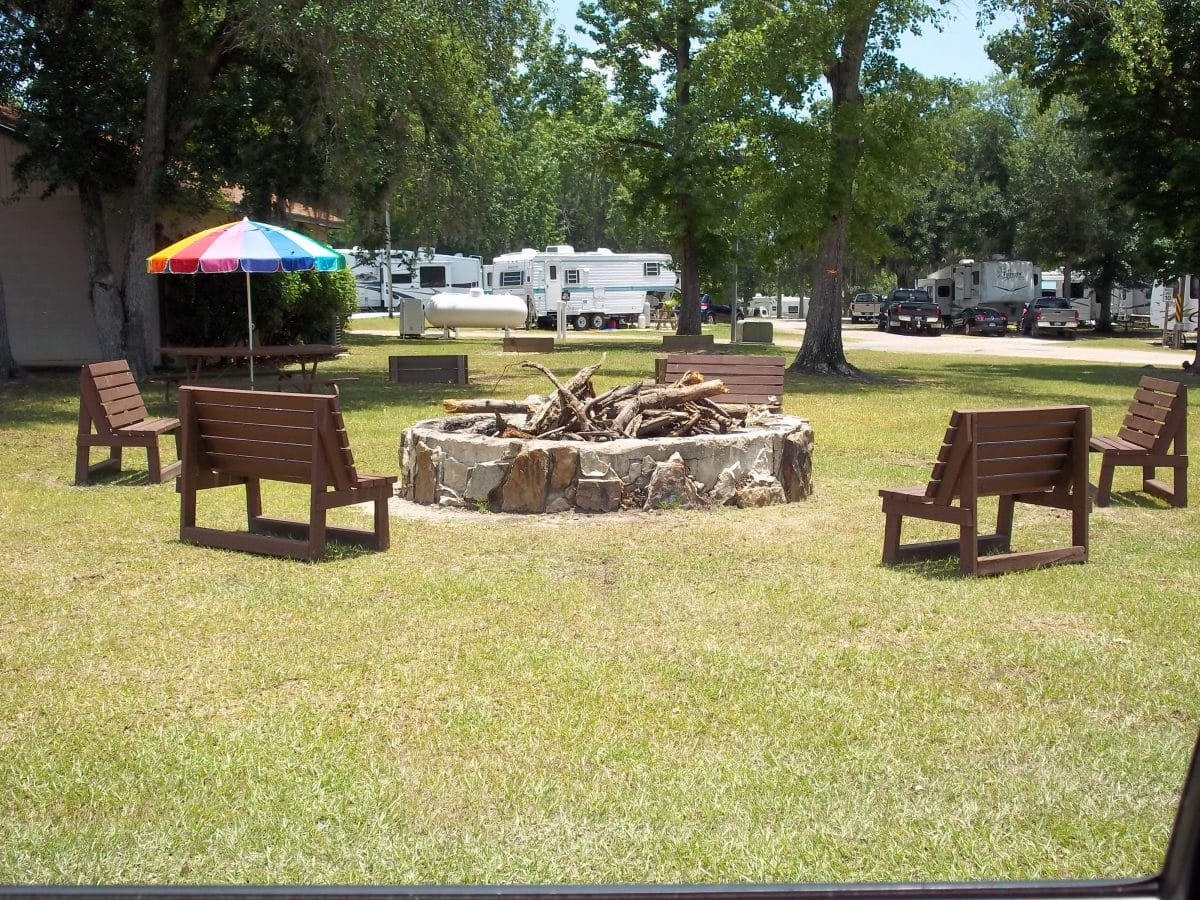Indian Point RV Resort - fire pit