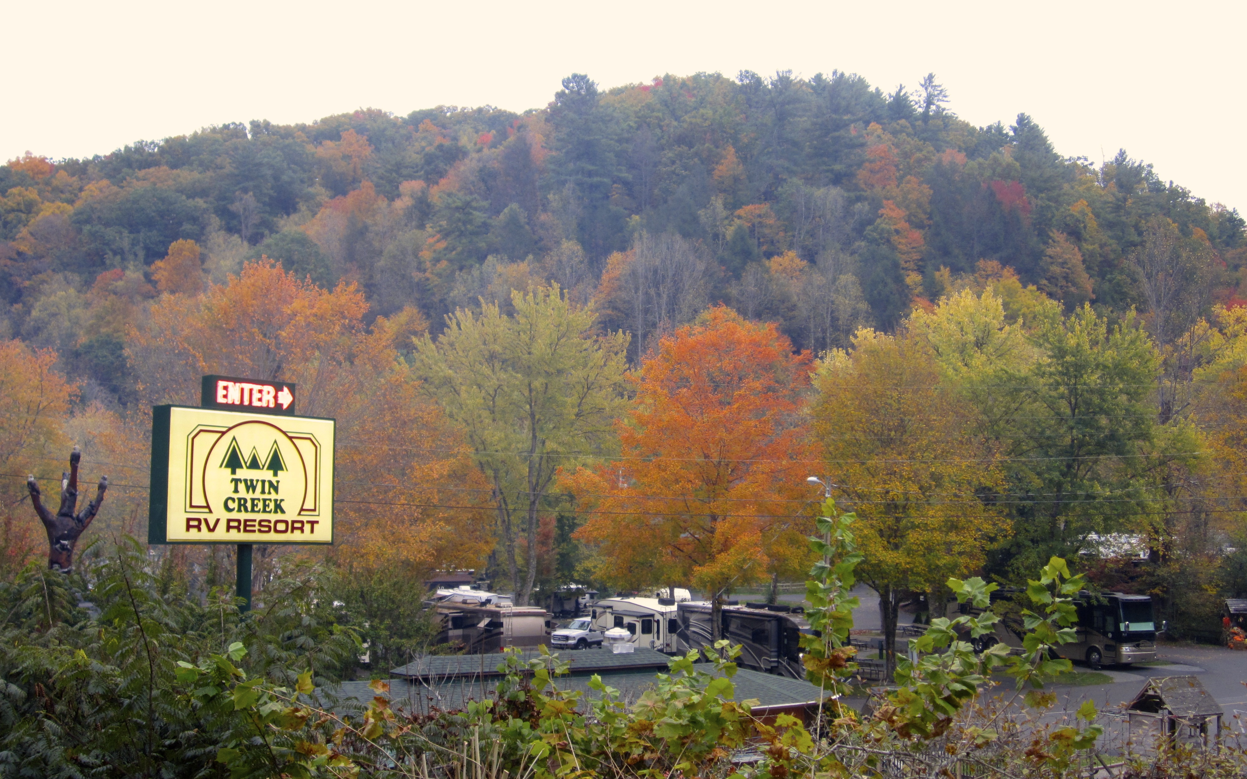 twin creek rv resort,tennessee gateway to the great smoky mountains!