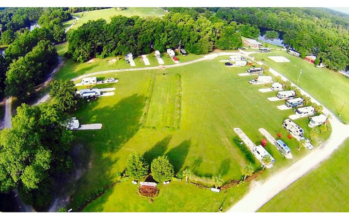 Red Gate RV Park and Campground - aerial view