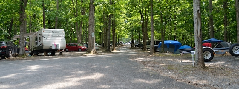 Christopher Run Campground - rv sites