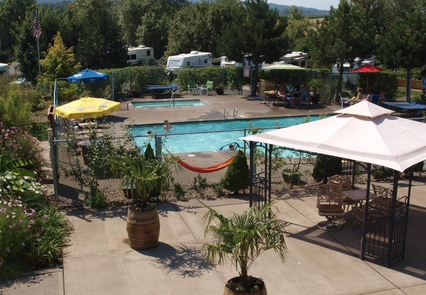 Premier RV Resorts - Salem pool